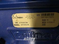 Quincy Air Compressor With Baldor Motor