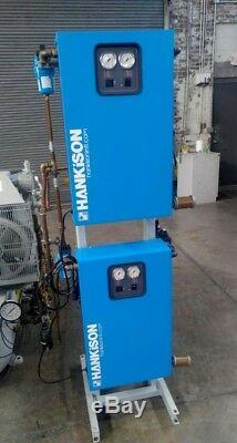 Quincy QRDS, Squire Cogswell, Ohio Medical 3 hp NFPA 99 medical air system