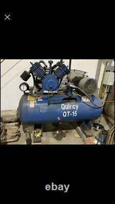Quincy QT-15 120 Gallon Air compressor