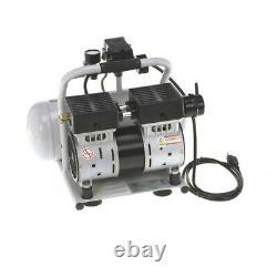 Quipall 2-1-SIL-AL 1 HP 2 Gallon Oil-Free Hotdog Air Compressor NEW