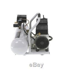 Quipall 2-1-SIL-AL Oil Free Compressor, 1.0 HP, 2 gallon, Aluminum Tank NEW