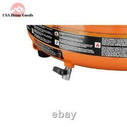 RIDGID Portable 6 Gal Electric Pancake Air Compressor Durable Universal Motor