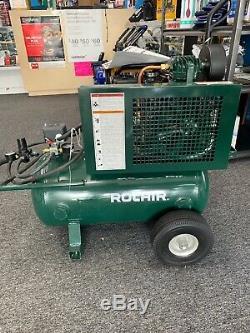 ROLAIR 5520K17A-0001 Air Compressor, 1.5 HP, 115VAC, 90PSI