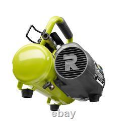 RYOBI Portable Air Compressor 1 Gal. 120 PSI 18-Volt Cordless Oil Free Tool-Only