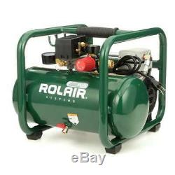 Rolair Plus 2.5gal Portable Electric Air Compressor for Tires & Tools (Open Box)