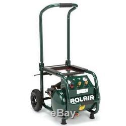Rolair VT25BIG 5.3 Gallon Wheeled Air Compressor (Open Box)