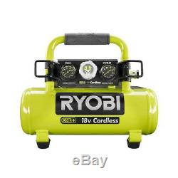 Ryobi 18 Volt ONE+ Portable Air Compressor Cordless 1 Gallon 120 PSI (Tool Only)