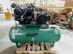 SPEEDAIRE 15 HP Air Compressor 3 Phase 120 gallon Electrical Horizontal