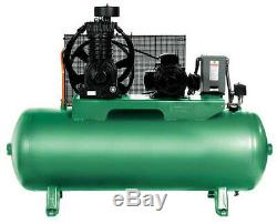 SPEEDAIRE 35WC41 Elec. Air Compressor, 2 Stage, 5HP, 16.6CFM