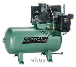 SPEEDAIRE 5Z699 Electric Air Compressor, 1-1/2 HP