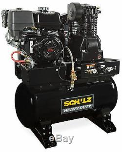 Schulz Air Compressor 13hp Honda Gx390 Gas Drive Service Truck Special