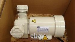 Schulz MSV6 MSV12 dental air compressor head 1HP Oil Free 115/230V (No copper)
