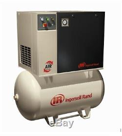 Screw air compressor INGERSOLL NEW Model UP6-15C-150, 150 PSIG, 120 Gallon 15HP