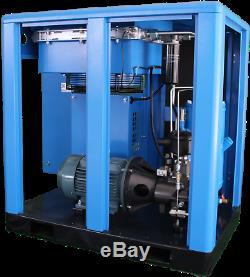 Single Phase 25 HP VFD US AIR COMPRESSOR ROTARY SCREW Gardner Denver Filter
