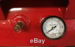Snap-on Air Compressor, Stationary, Horizontal, Gas Engine, 30-gallon, 9.0 HP
