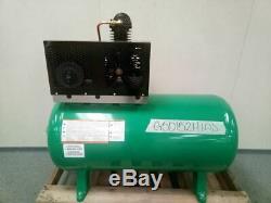Speedaire 5Z699 1.5 HP 860 RPM 208-240VAC, 480VAC Stationary Air Compressor
