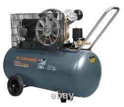 TRUPER COMP-120LH 120 liter air compressor, horizontal