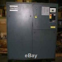 USED 50-hp ATLAS COPCO GA37 ROTARY AIR COMPRESSOR COMPUTER CONTROLLED
