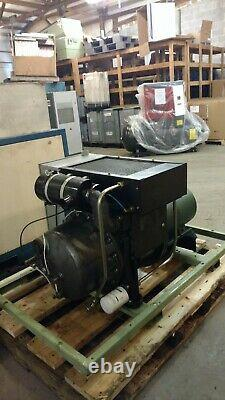 Used 30 HP Sullair Es-8 Open Design With Computer 230/460v 3 Phase