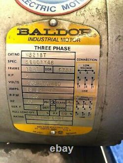 Used Air Compressor. Ingersoll Rand, Model# 242-5D. 50 T X 22 W X 67 L