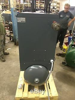 Used Atlas Copco GX7FF 2017 model 10 hp Rotary screw air compressor and dryer