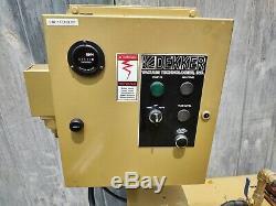 Used Dekker Air Compressor Receiver Tank- 60 Gallon Horizontal and Starter Panel