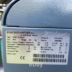 Used atlas copco air compressor