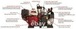 VMAC G30 Air Compressor World's Best Rotary Screw Gas Driven Flat Rate Shipping