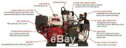 VMAC G30 Rotary Screw Gas Driven Air Compressor 50% Lighter 30 CFM All The Time