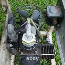 Vtg WWII US Air Force Cornelius 3 stage Air Compressor in Cage 32-R-300 27vdc