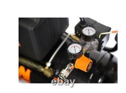 WEN 2287 6-Gallon Oil-Lubricated Portable Horizontal Air Compressor